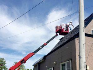 作業風景:屋根・外壁塗装