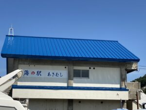 屋根ペンキ塗装-仕上げ外観側面