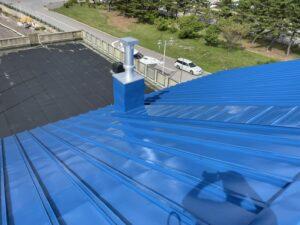 屋根ペンキ塗装-仕上げ4