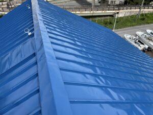 屋根ペンキ塗装-仕上げ7