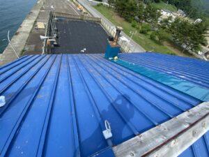 屋根ペンキ塗装-掃除洗浄3
