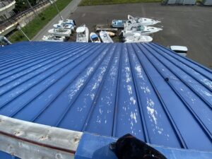 屋根ペンキ塗装-掃除洗浄4