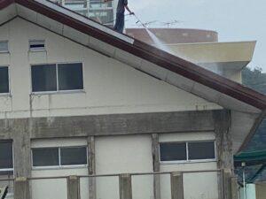 屋根ペンキ塗装-掃除洗浄6
