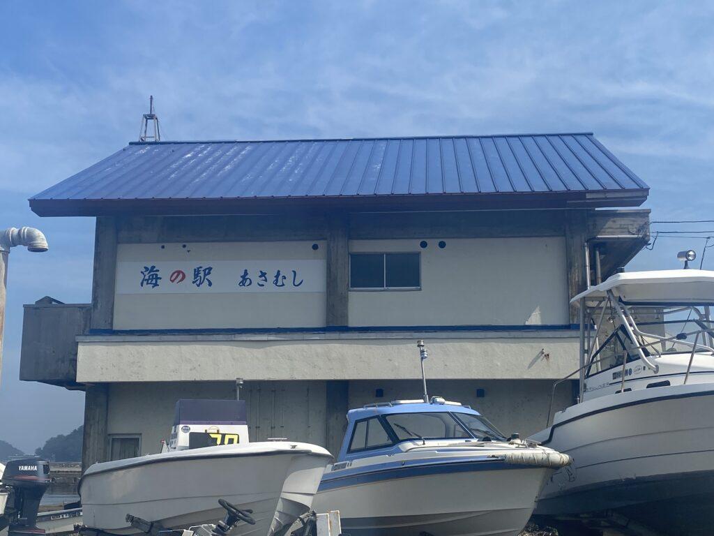 屋根ペンキ塗装-施工前外観側面